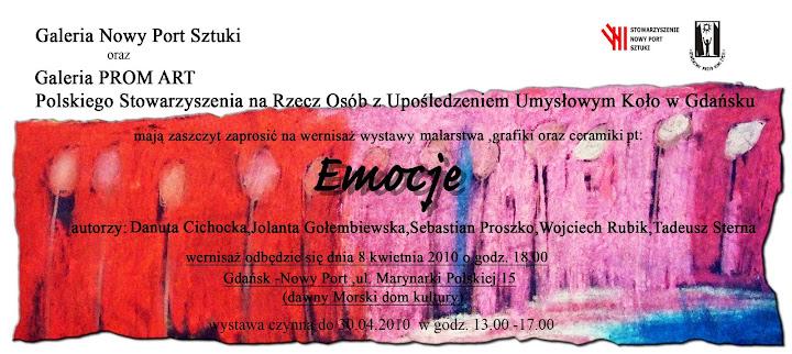 Emocje - zaproszenie