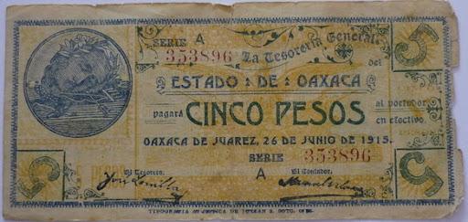 Billetes Antiguos de Oaxaca B_P1000924