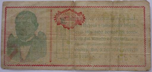 Billetes Antiguos de Oaxaca B_P1000927