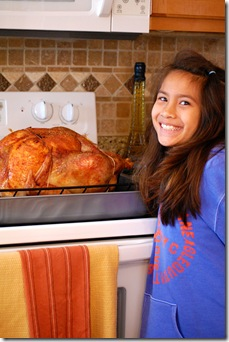 Yasmine and turkey
