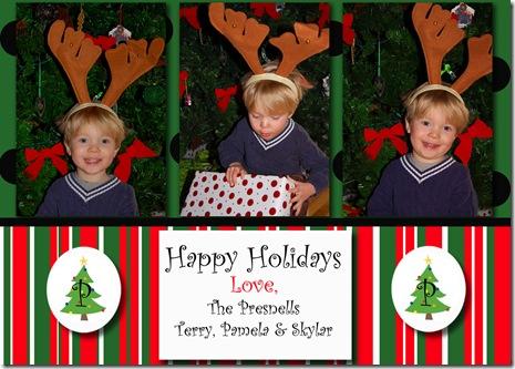Christmas card I