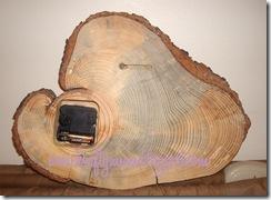 Wood Clock 088