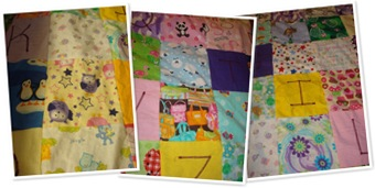 View Girl I-Spy Quilt