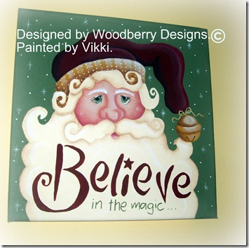 Believe canvas
