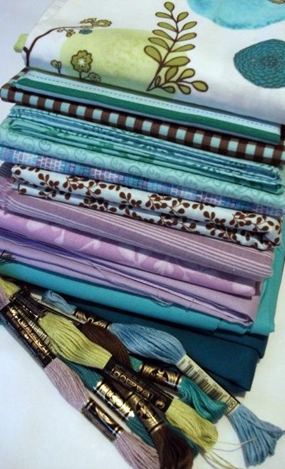 Cot quilt fabrics 1