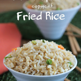 Panda Express Copycat Fried Rice