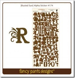 Alpha Sticker - Rusted Sun