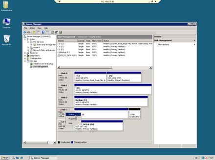 Mount VHD on Windows Server 2008