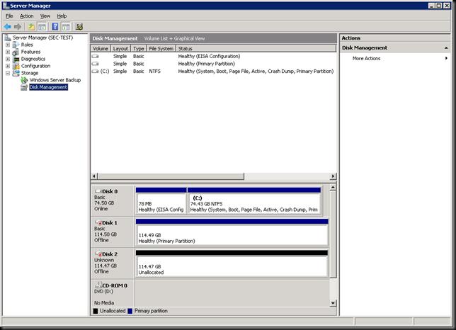 2k8-disk management