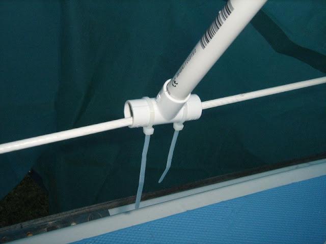 Confectionner un abri pour travailler sur le pont de votre bateau durant l'hiver