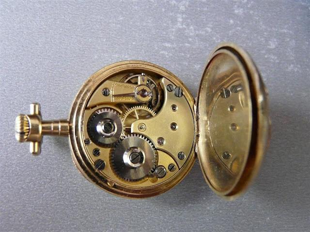 comment identifier un calibre de montre gousset ? MVT4