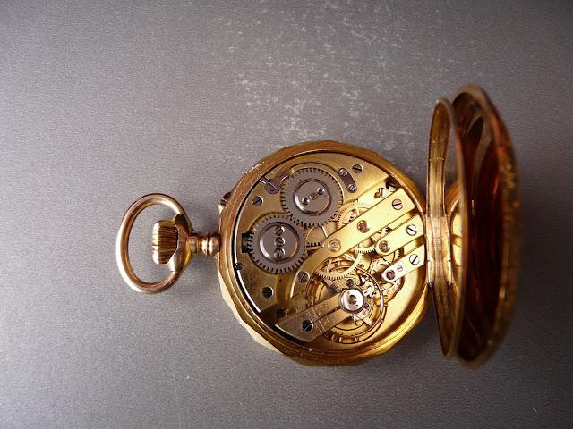 comment identifier un calibre de montre gousset ? MVT3