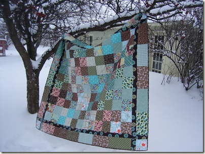 quilts, chickens, winter 009
