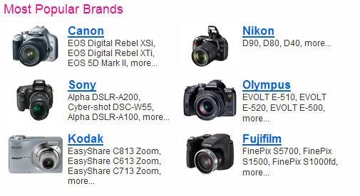 most_popular_camera_brands