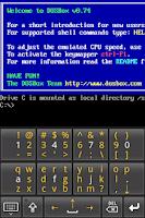 Screenshot of AnDOSBox