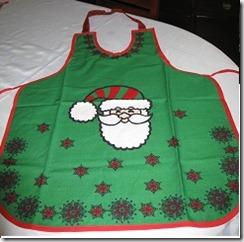 Delantal Noel