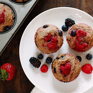 Low Fat Strawberry Blueberry Muffins Recipes