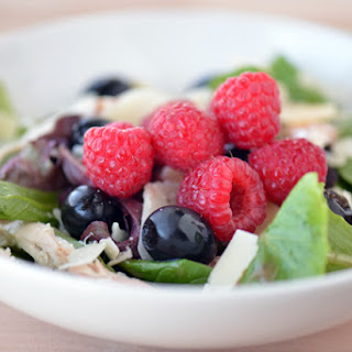 Raspberry Parmesan Chicken Salad