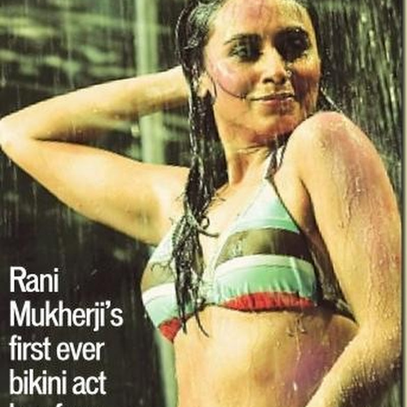 Rani Mukherjee Denies Wearing A Bikini