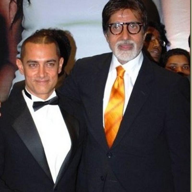Aamir Khan visited Amitabh Bachchan