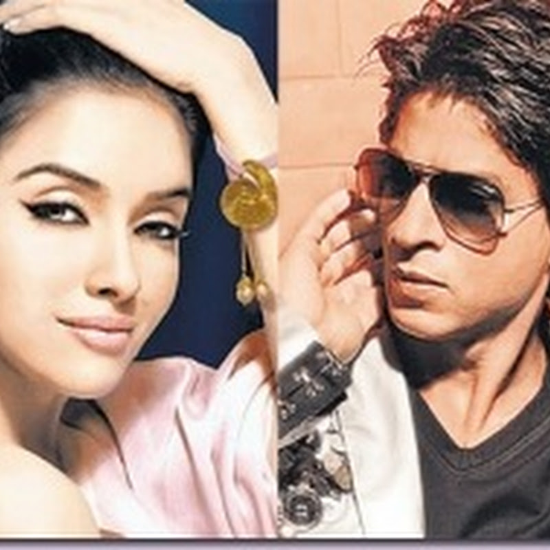 Asin to romance superstar Shahrukh Khan!