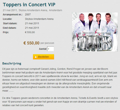 boom toppers arena