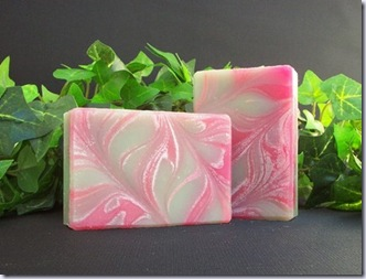 ajscountrycottage pink soap 517