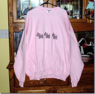 scottieacres pink sweatshirt 517