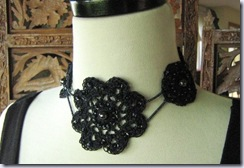 imaginuity black necklace