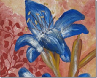 heronkate blue lily