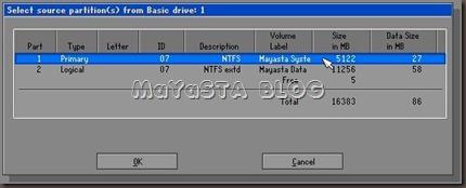 MaYaSTA Blog - Cloning Harddisk