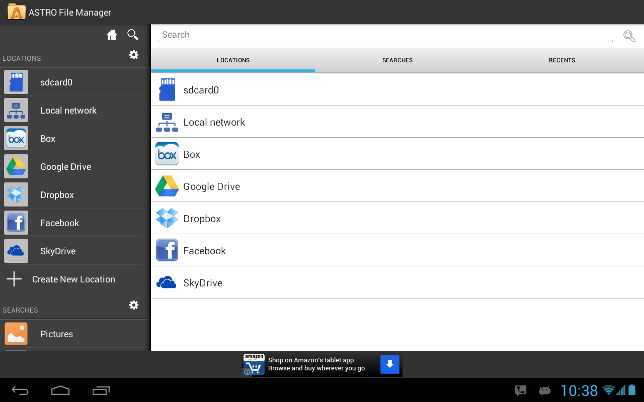 ASTRO File Manager Screenshot 10