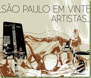 São Paulo em 20 artistas