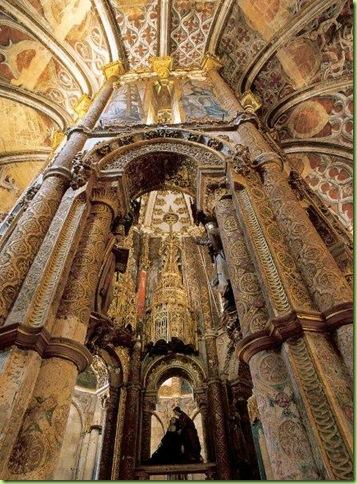 Charola_interior_-Convento de Cristo.Tomar