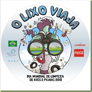 Logo Dia Mundial Limpeza Rios e Praias 2010