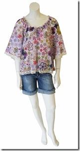 LULU- Bata Voil De R$185 por R$ 111  Bermuda Jeans de R$192 por R$11520