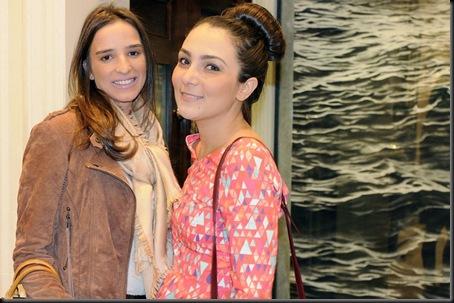 Renata Callarge e Lala Noleto