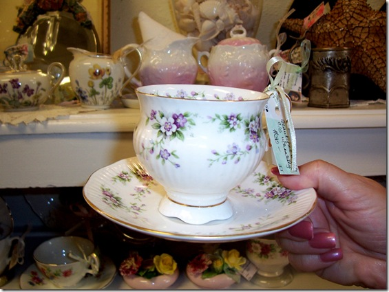 a beauty teacup