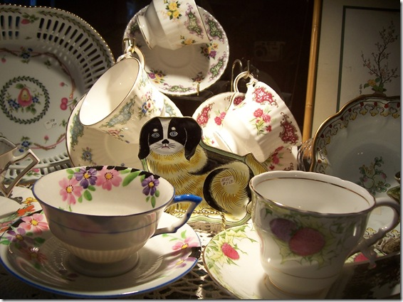 assorted teacups
