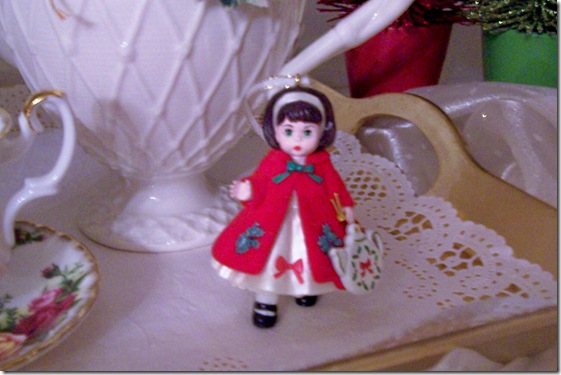 girl ornament