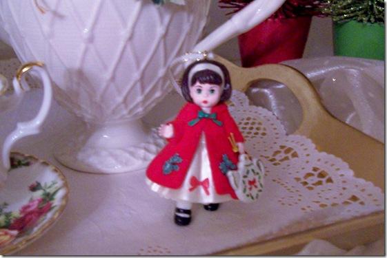 girl ornament