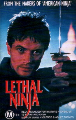 Lethal ninja poster