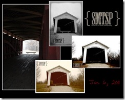 Covered Bridge, Rt. 36 East of Dana, IN
