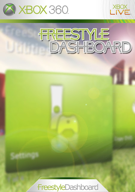 how to change xbox 360 dashboard background