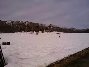 雪解けまでもう少し