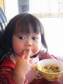 ソースカツ丼とラーメン食べました