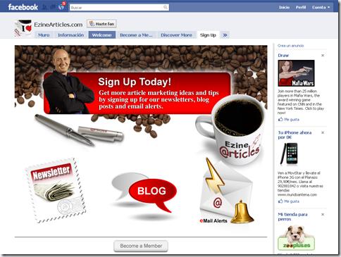 Sitio Facebook