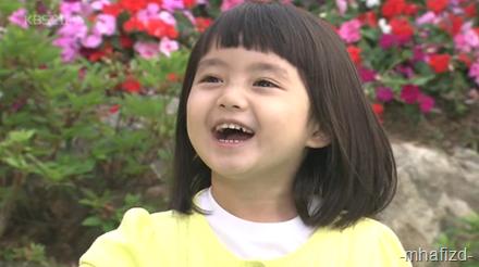 Nih la Ha Seon si baby