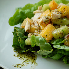 Thai Chicken and Nectarine Salad
