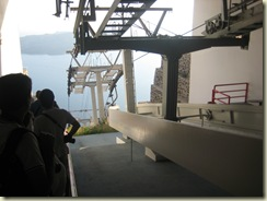 The cable car lift